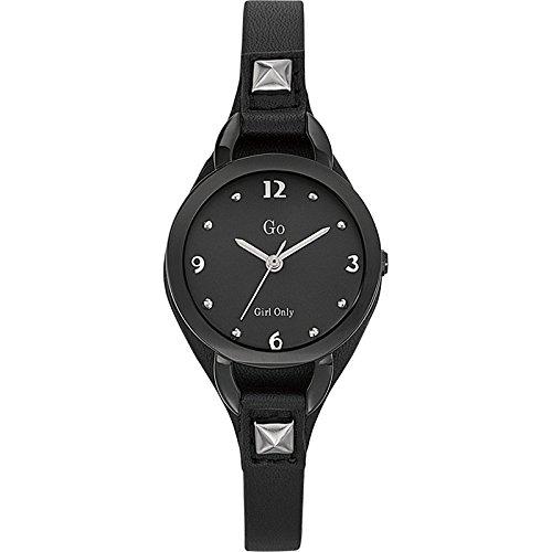Go Girl Only 698285 - Reloj analógico de cuarzo para mujer, correa de cuero color