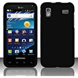 Importer520 Rubberized Snap-On Hard Skin Protector Case Cover for For (AT&T) Samsung Captivate Glide 4G i927 - Black
