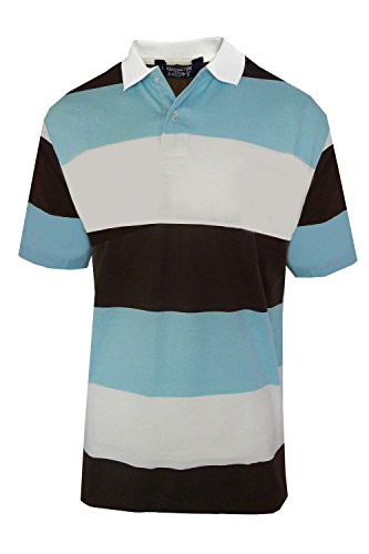 Kensington Eastside 1X4739 Mens Striped  - Multi Coloured Striped Polo Shopping Results