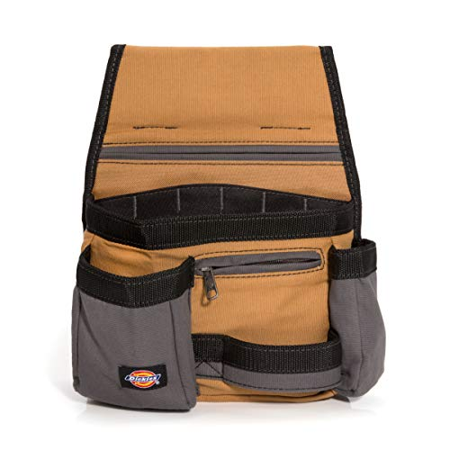 Dickies Work Gear 57019 Grey/Tan 11-Pocket Tool Pouch ()