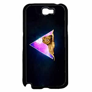 Fox Fur Nebula Pyramids and Lions TPU RUBBER SILICONE Phone Case Back Samsung Galxy S4 I9500/I9502