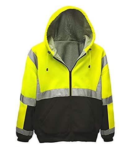 e38c4242fbf3 Brite Safety Style 5010 Hi Viz Sweatshirts for Men or Women
