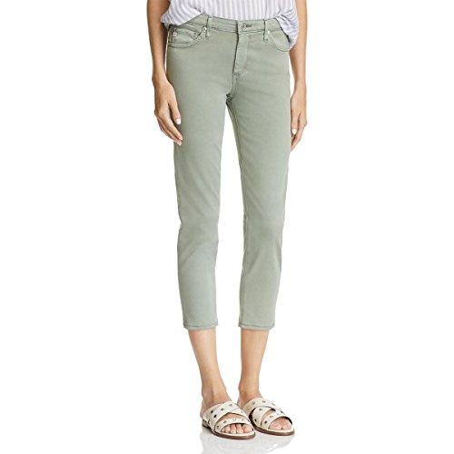 AG Adriano Goldschmied Women's Prima Crop Mid Rise Cigarette Jean in Rose Quartz,