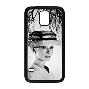 WJHSSB Customized Print Audrey Hepburn Hard Skin Case For Samsung Galaxy S5 I9600