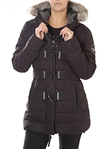 Superdry Chaqueta Mujer MF Tall Toggle puffle Black, mujer, Mf Tall Toggle Puffle Jacket, negro, extra-small: Amazon.es: Deportes y aire libre
