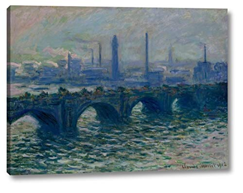 Waterloo Bridge London by Claude Monet - 23