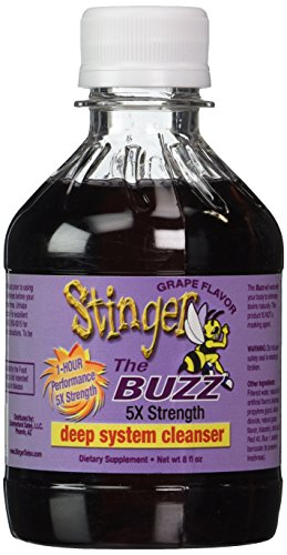 Stinger Detox The Buzz 5X Strength Grape 8 Fl oz