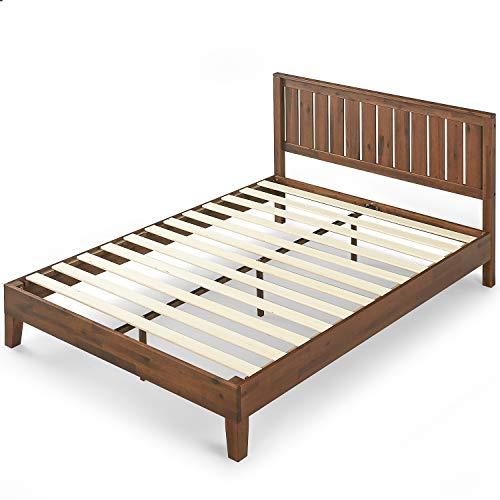 Zinus 12 Inch Deluxe Solid Wood Platform Bed With