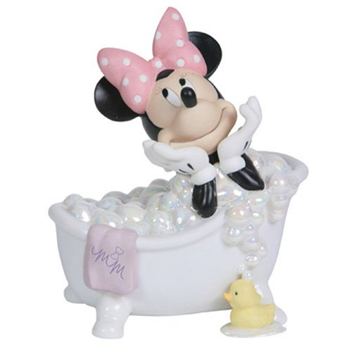 Precious Moments The Magic of Disney Collectible Figurine, Wash Away Your Troubles (Disney Ceramic Figurine)