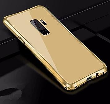 Funda® Duro Cáscara Funda para Samsung Galaxy S9 Plus (Oro ...