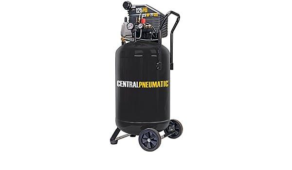 2.5 HP 125 PSI Cast Iron Vertical Air Compressor by Central Pneumatic: Amazon.es: Bricolaje y herramientas