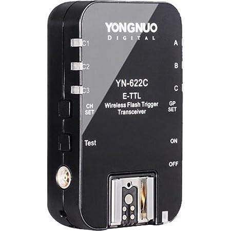 Yongnuo YN-622 7-Channel Wireless E-TTL Flash Transceiver for Canon (2-Pack) YN-622C