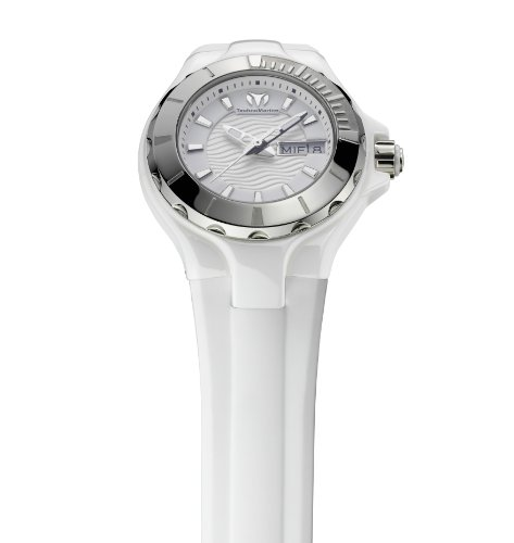 Amazon.com: TechnoMarine Womens 110022 Cruise Ceramic 3 Hands White Dial Watch: Watches