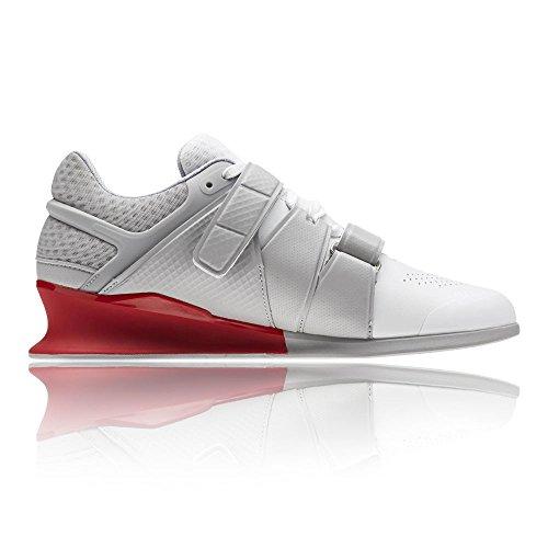Legacy stark Grey Red 000 Reebok primal Chaussure Blanc Haltérophilie white Lifter Homme 0d67Ffn