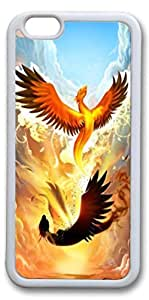 iphone 5C case, iphone 5C covers, Phoenix Rising Personalized hard Rubber pc hard Case Protective Cover for Apple iphone 5C Inch White