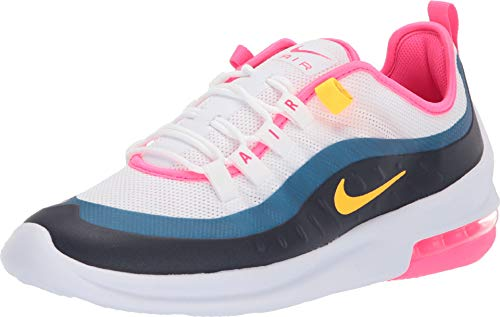 Nike Women's Air Max Axis White/Laser Orange/Hyper Pink 8 B US ()