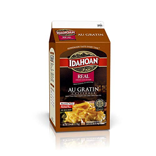 Idahoan Real Au Gratin Casserole Potatoes, 2.54 Pound -- 6 per case.