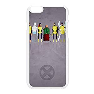 8Bit - Marvel Xmen Original White Hard Plastic Case for iPhone 6 Plus by DevilleArt + FREE Crystal Clear Screen Protector