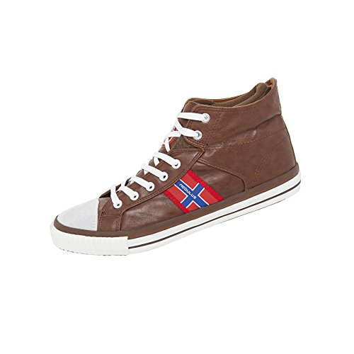 de Bottines Homme Nebulus Forme en Marron Chaussures Flyer Zw6wvPAa