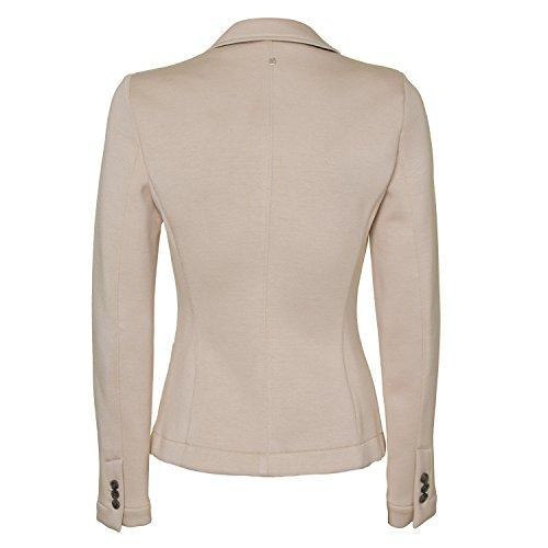 Sweat Damen Blazer 5158-4811-32 - von IQ + Berlin - Farbe beige