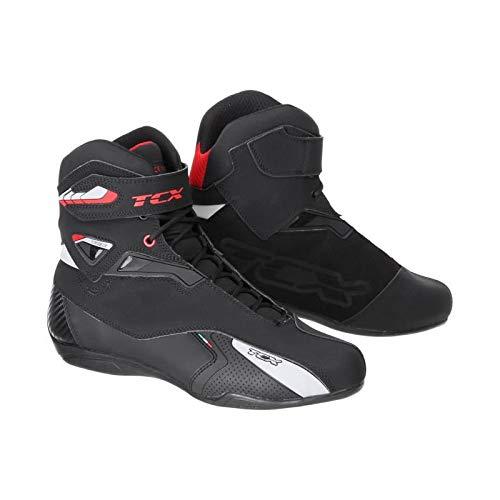TCX Rush Waterproof Men's Street Motorcycle Shoes - Black / 41