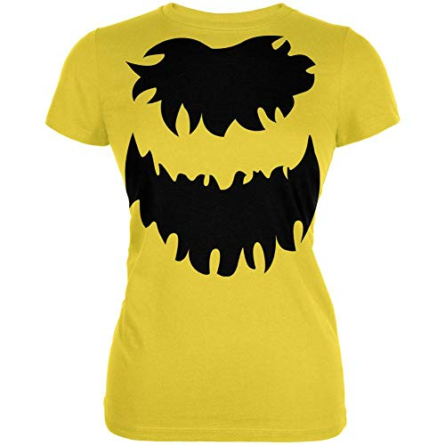 Old Glory Halloween Bumble Bee Costume Cute Juniors Soft T Shirt Bright Yellow SM -