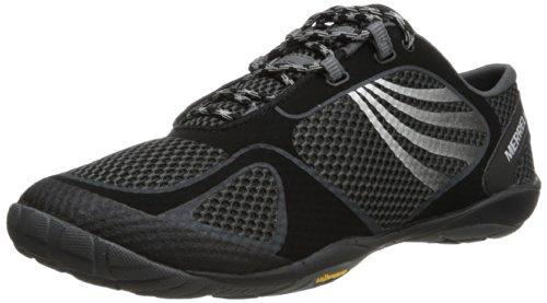 Merrell Women's Pace Glove 2 Trail Running Shoe,Black/Silver,5 M US