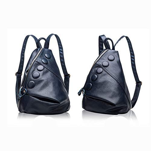 Epaule Blue Cuir Main Bag Travel Sac 34cm Sacs 14 Sac à Sac A Sac 5 Sac Dos Porté à Mode Dos 23 à Femme Cartable Bandoulière wR6zPqR4nt