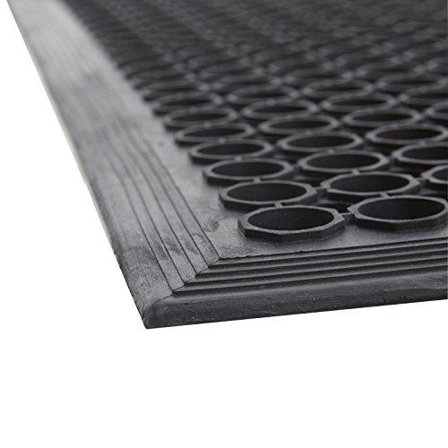 Alfombra de goma anillo alfombra de goma 20 mm 60x80 cm