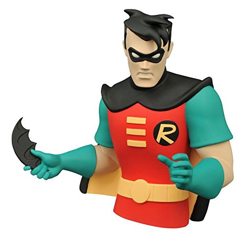 Diamond Select Toys Batman The Animated Series: Robin Vinyl Bust Bank