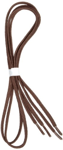 Maddak Perma-Ty 30 Brown Elastic Shoelaces (Pack of 3 Pairs) (738150030)