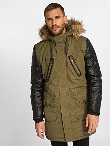 Hombres Parka Vsct De Chaquetas Clubwear Invierno Caqui chaqueta wxz4zTqOp