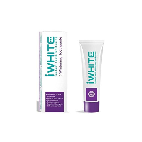 iWhite Instant Teeth Whitening Toothpaste (75ml) (Pack of 6) -