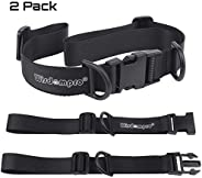Backpack Chest Strap, Wisdompro Heavy Duty Adjustable Backpack Sternum Strap Chest Belt with Quick Release Buc