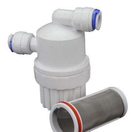 Inline Pre-filter Booster Pump RO REVERSE OSMOSIS WATER FILTER CONNECTOR DI by Cz Garden Supply (Pump Permeate Ro)