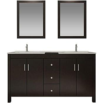 Dkb Douglas Series 72 Quot Inch Solid Wood Double Sink