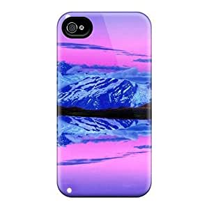 Abrahamcc Scratch-free Phone Case For Iphone 4/4s- Retail Packaging - Moon Rise At Dusk by mcsharks