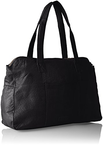Leather Donna Bag Noos Black PIECES Pcabby da polso Borsette Nero 50BqRwx