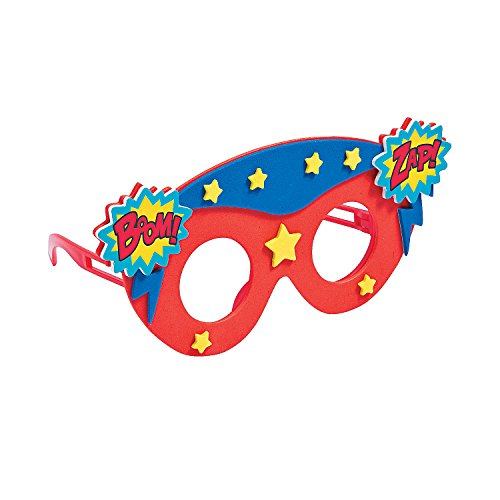 Kids Party Favors Crafts Superhero Glasses Set of 12 for Boys and Girls ()