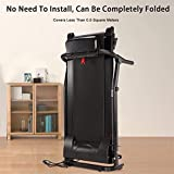 Freeby Electric Folding Treadmill Home Fitness
