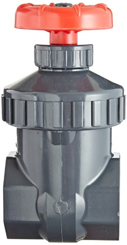 Spears PVC Gate Valve, Non-Rising Stem, Viton O-Ring, 1'' Socket by Spears Manufacturing (Image #2)