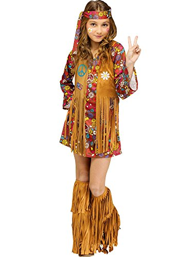 Fun World Peace & Love Hippie Costume for Kids