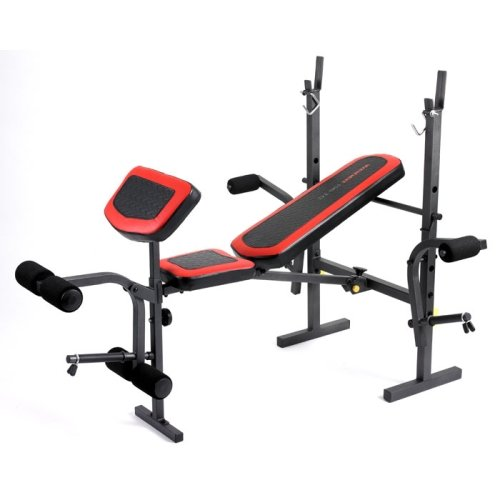 Weider 195 Weight Bench Amazon Co Uk Sports Outdoors