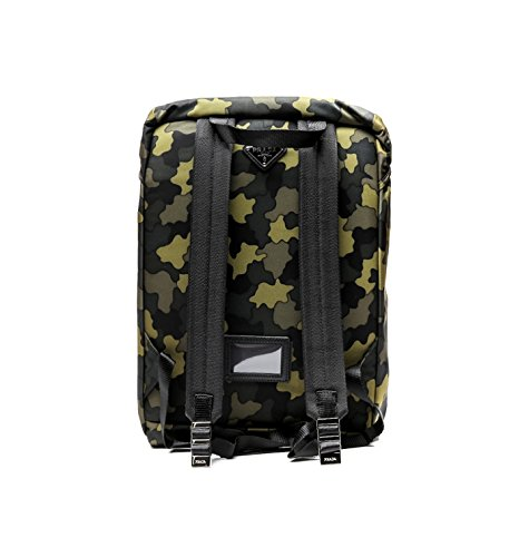 Prada Men's Top Flap Travel Backpack One Size Camouflage by Prada (Image #2)