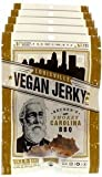 kraft oven fry pork - Louisville Vegan Jerky - Smokey Carolina BBQ, Vegetarian & Vegan Friendly Jerky, 9 Grams of Non-GMO Soy Protein, Gluten-Free Ingredients (Pack of 5, 3 oz.)
