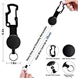 Multifunctional Retractable Badge Holder Reel