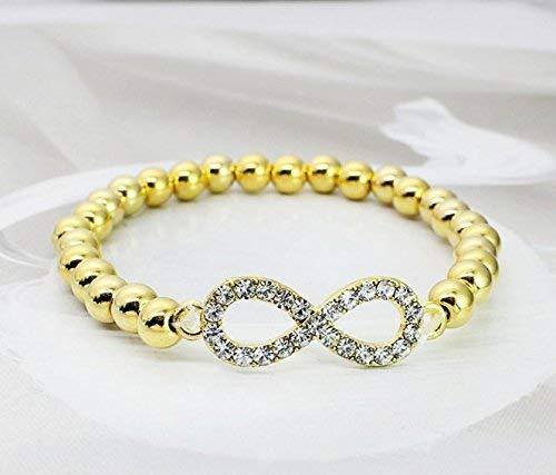 Women Elegant Home DIY Handmade Beaded Bracelet Elegant Diamond Bracelet