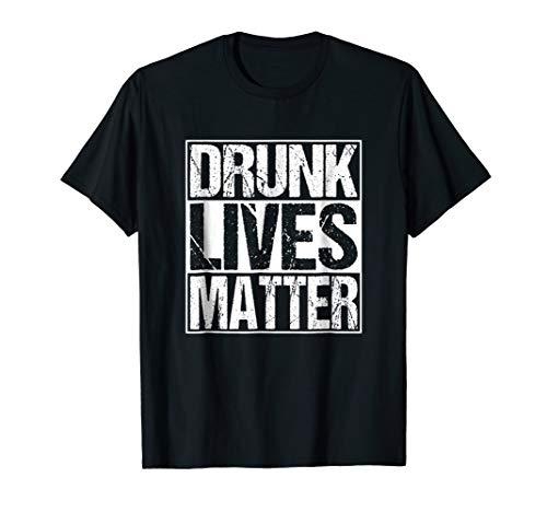 - Vintage Drunk Lives Matter Shirt Saint Patrick's Day T-Shirt