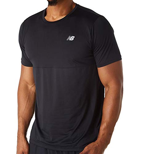 Giant New T-shirt - New Balance Accelerate Ss, Black, Medium