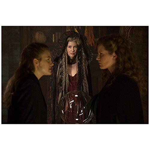 (Once Upon a Time Emma Booth as Gothel watching Tiera Skovbye as Robin and Rebecca Mader as Zelena 8 x 10 Inch Photo)